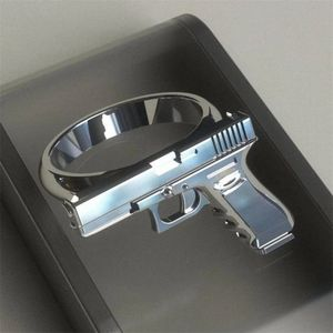 Gun Imitation Ring alloy Gun Ring